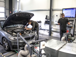 BMW M 235i: Chip tuning