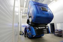 为货柜车发动机优化性能