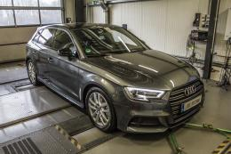 Ein Audi A3 bei DTE Anfang 2018. Foto: Archiv DTE
