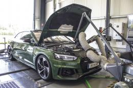 Audi RS5 on the DTE dynamometer