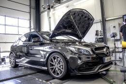 Auch solch ein Mercedes A45 war bereits bei DTE Systems. Foto: Archiv DTE