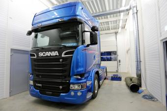 Sprit sparen Iveco Scania R 520