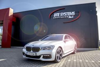 Boitier additionnel pour un BMW 750d