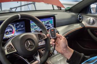 Mercedes-Tuning: Bessere Beschleunigung mit der PedalBox<sup>+</sup>