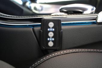 Mercedes GLC mit PedalBox