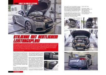 La presse parle du tuning DTE de l'Audi TT