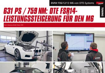 La presse parle du tuning DTE de la BMW M6