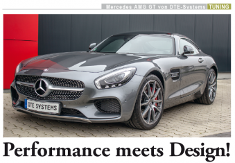 DTE Tuning Presse Mercedes AMG GT