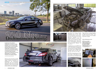 DTE Tuning Presse Mercedes CLS 63 AMG