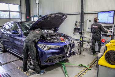 Chip tuning for the Alfa Stelvio