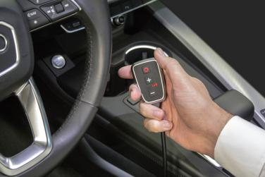 Die neue PedalBox im neuen Audi A4