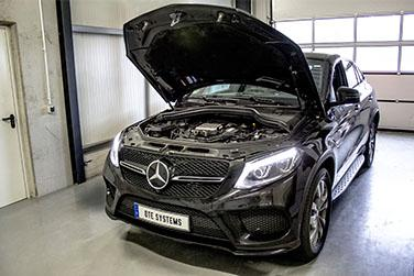 Chip tuning Mercedes GLE Coupé