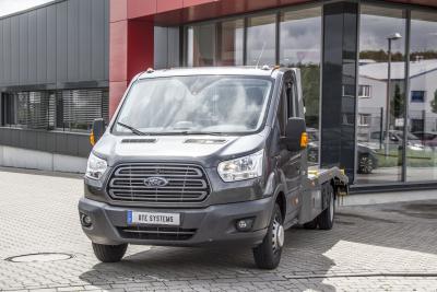 Ford Transit: Auch der Pritschenwagen profitiert vom DTE-Tuning