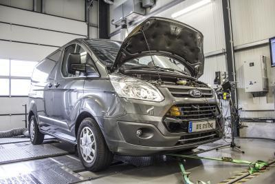 PowerControl: Mehr PS für den Ford Transit als Kastenwagen