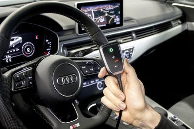 Bessere Beschleunigung im Audi mit der PedalBox<sup>+</sup>