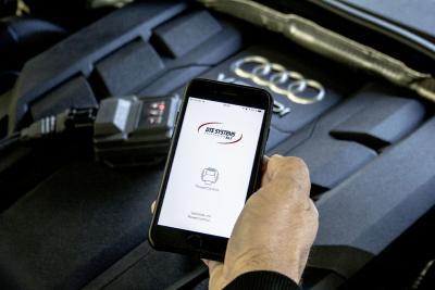 Audi A8L chiptuning s aplikaciou