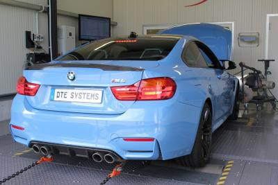 Chiptuning BMW M4 test bench