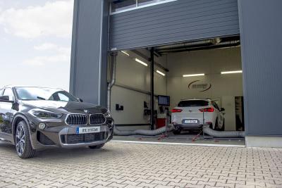 Der neue BMW X2 auf dem Leistungsprüfstand von DTE