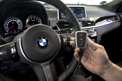 PedalBox<sup>+</sup> im BMW X2 von 2019