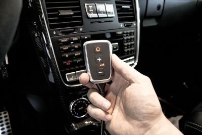 Die neue PedalBox<sup>+</sup> im Mercedes G 500