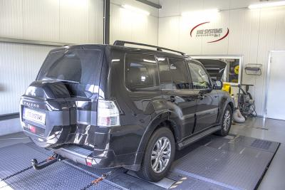 Pajero on the dyno