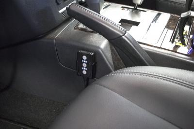 DTE PedalBox in the Pajero