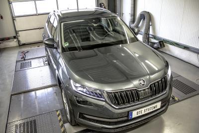 Un boîtier additionnel de puissance pour le Skoda SUV