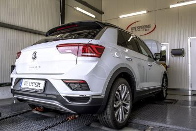 VW T-Roc: Leistungsprüfstand bei DTE