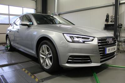 Audi A4: Optimized acceleration with PedalBox
