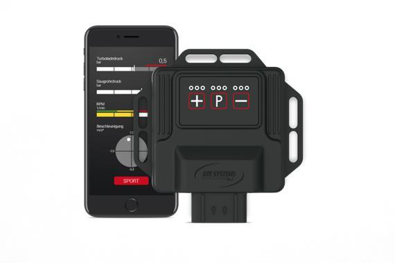 Chiptuning Box mit Smartphone App