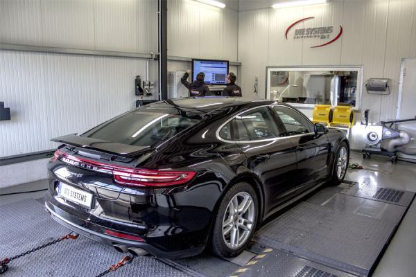 DTE-Motortuning für den neuen Porsche Panamera 4S