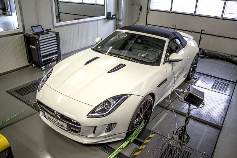 Chiptuning for the new Jaguar F-Type