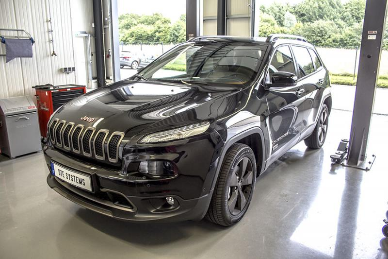 DTE chiptuning for the new Jeep Cherokee