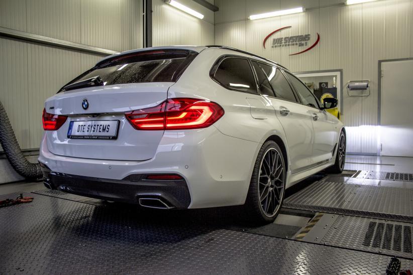 DTE-Tuning für den BMW 530d