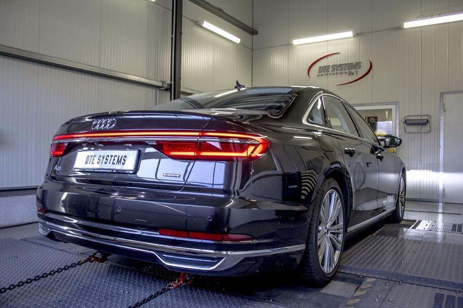 Chip tuning for an Audi A8 (D5)