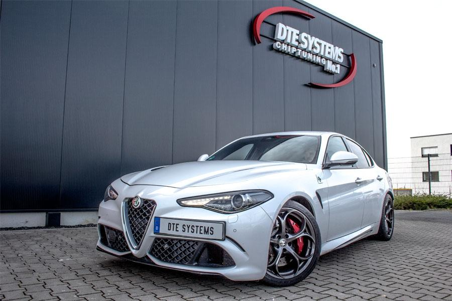 Tuning for the Alfa Romeo Giulia