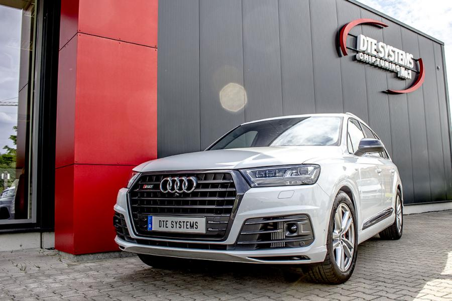Audi SQ7 at DTE: More power for the strong Diesel-SUV from Audi