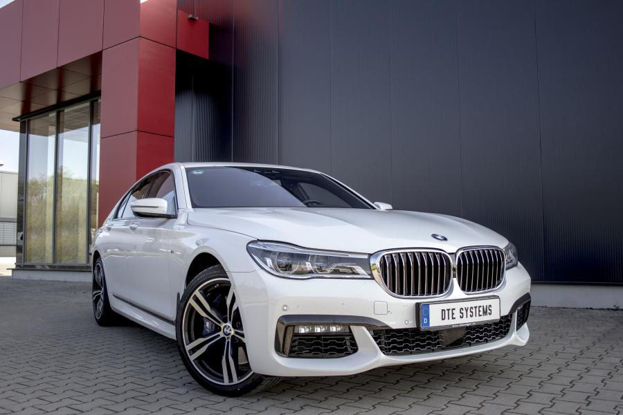 more power and torque for the BMW 750d