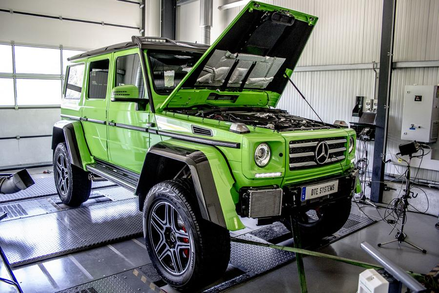 Tuning for the Mercedes G 500