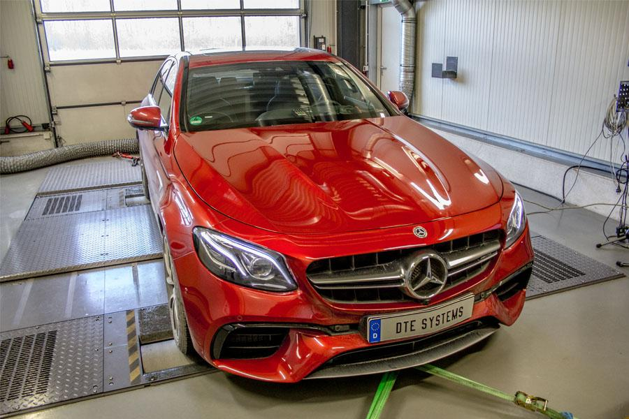 Engine tuning for an AMG E63