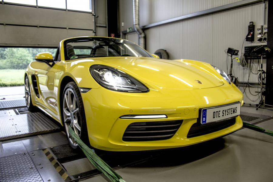 Tuning for the Porsche 718