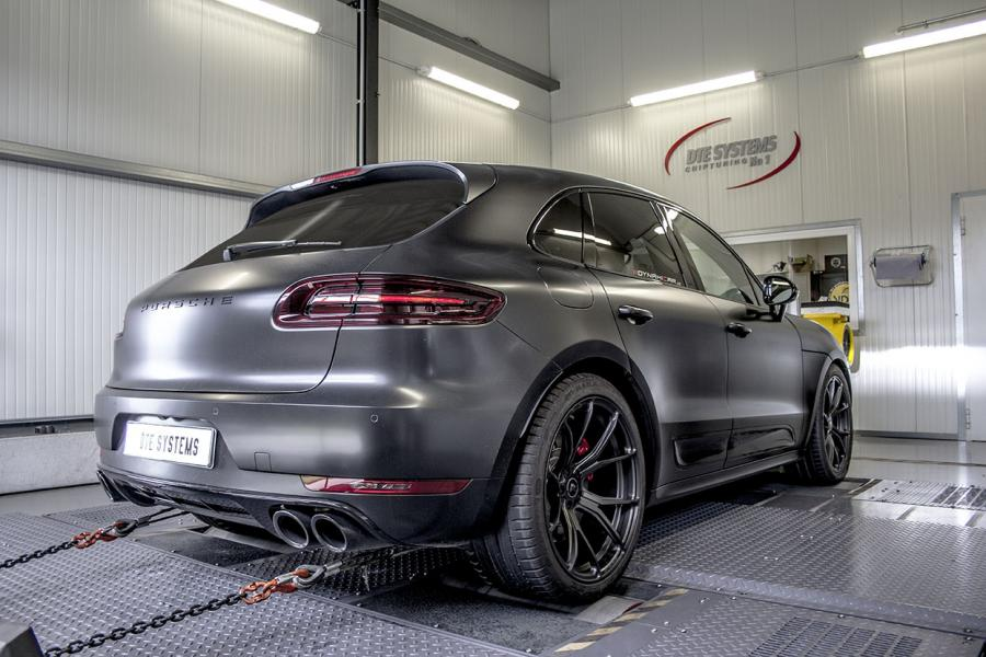 Tuning for the Porsche Macan