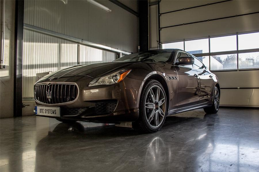 Tuning for the Maserati Quattroporte