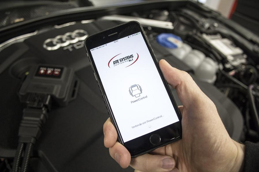 Chip tuning with smartphone control