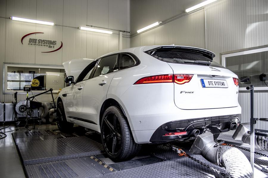 Tuning pour le Jaguar F-Pace