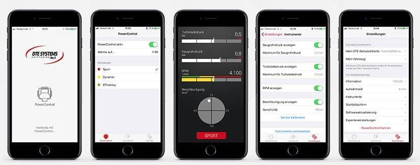 Chiptuning mit Smartphone-App