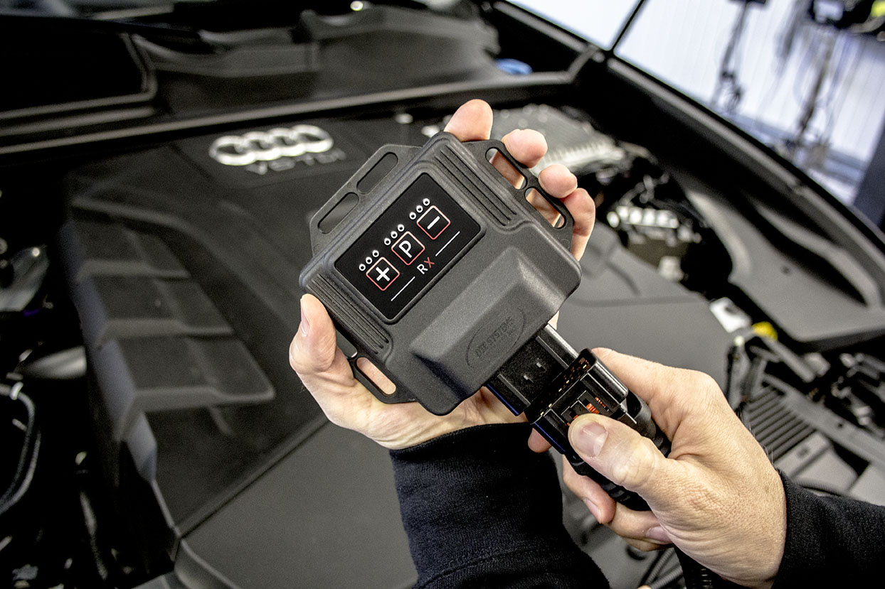 Audi Q8 2018 | DTE chip tuning with smartphone control