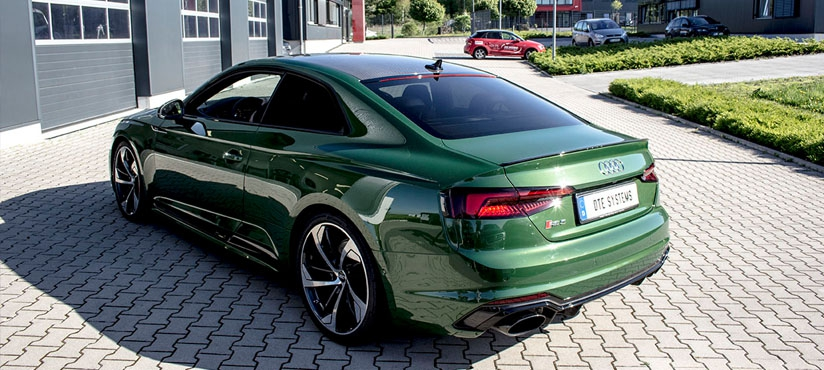 Sporty Audi RS5 with the power of DTE