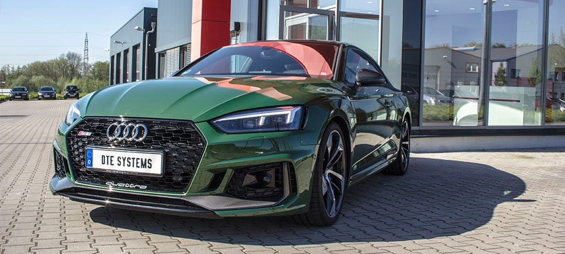DTE tuning for the Audi RS5