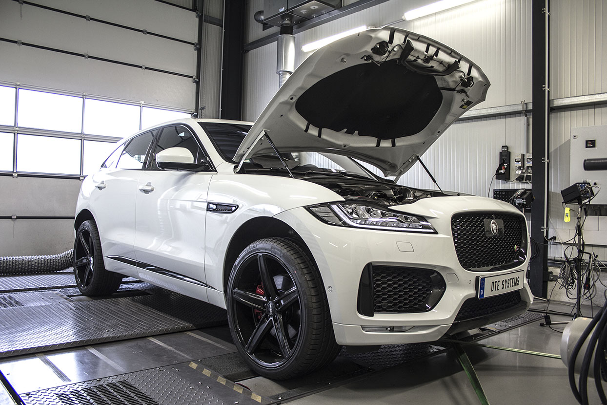 jaguar f pace dte tuning. Black Bedroom Furniture Sets. Home Design Ideas